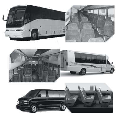 New Orleans Coach Bus rental