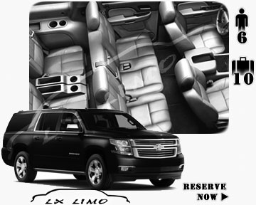 SUV Suburban for hire in New Orleans