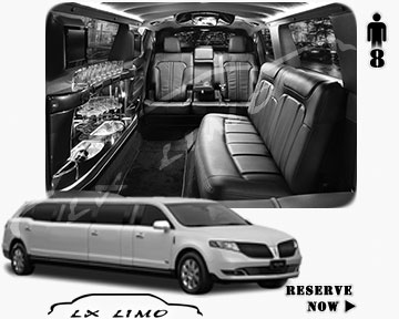 Stretch Limo for hire in New Orleans