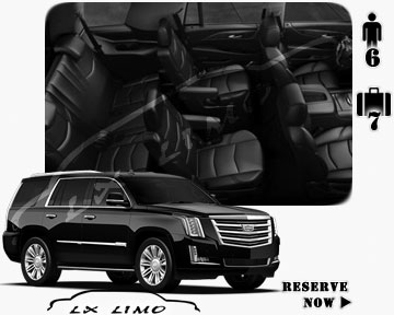 SUV Escalade for hire in New Orleans, LA