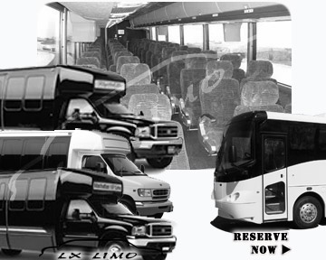 New Orleans Bus rental 36 passenger