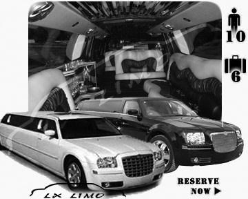 Chrysler 300 Limo in New Orleans for wedding