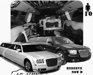 Chrysler 300 Limo for wedding in New Orleans
