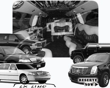 New Orleans Stretch Limos for rental